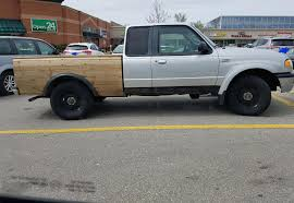 this truck has a cargo box made of wood diwhy