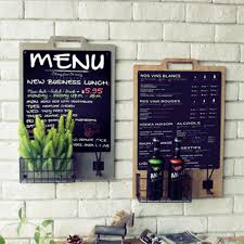 chalkboard with basket hanging board message wall mounted