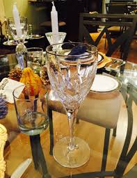 thanksgiving wine glasses save time and set your table early kelsey kaplan fashion