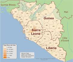 map of africa with country names 2014 ebola outbreak in africa outbreak distribution map