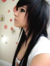 hair styles short in front and long in back haircuts very long in the front short in the back the typical