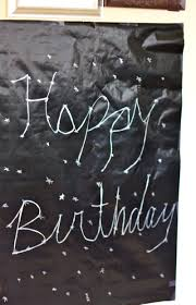 matte black wrapping paper constellation happy birthday sign celebrate happy