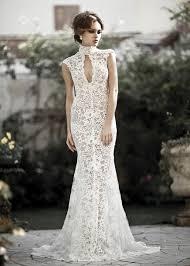 Wedding Dress Ivory Dress All Lace Lace Wedding Keyhole Gown Ivory White Sheer