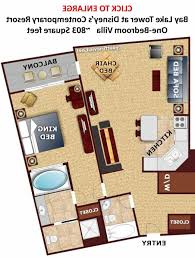 disney bay lake tower floor plan bedroom plan review bay lake tower at disneys contemporary resort