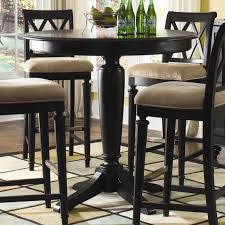counter height bar table pub tables and chairs dark wood counter height bar table design