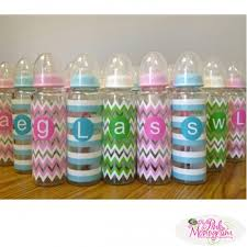 monogram baby items monogram baby bottles with shatter resistant glass at the pink