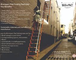 Folding Stairs Design Bcompact Hybrid Stairs And Ladders
