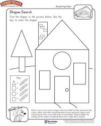 free house search shapes search free 1st grade math worksheet maths geometry