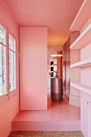 a designer u0027s barcelona home where color is king sight unseen