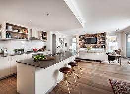 carrelage salon cuisine carrelage cuisine ouverte idées décoration intérieure