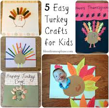 5 easy turkey crafts for bless this mess