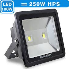 100 Watt Equivalent Led Light Bulbs For Home by Byb 100 Watt Super Bright Outdoor Led Flood Light 250w Hps Bulb