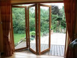 Collapsible Patio Doors Wooden Folding Door Bi Fold Dia Home Mediniai Pvc Langai