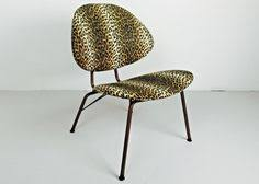 Potato Chip Chair Mid Century Modern Side Tables With Magazine Rack Designed By