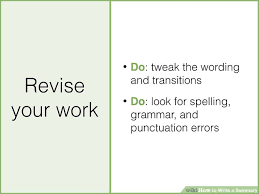 How To Write A Resume Teenager First Job by The Best Way To Write A Summary Wikihow