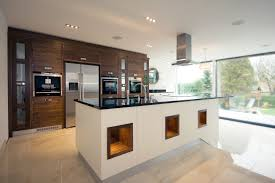 cozy open plan kitchen lighting ideas with nice big kitchen island