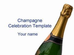 champagne celebration template powerpoint 1 jpg