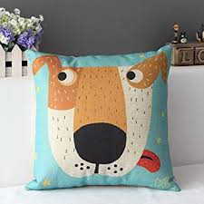 Throws And Cushions For Sofas Amazon Com Decorbox Cotton Linen Square Decorative Cushion Cover