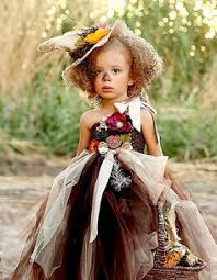 Flower Child Halloween Costume Cute Scarecrow Costume Tutu Halloween Costumes Kids Diy