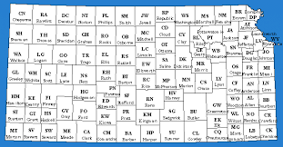 map of counties in kansas kansas county map