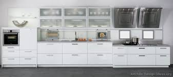 Modern Kitchens With White Cabinets Wonderful Modern Kitchen White Cabinets Pictures Of Kitchens