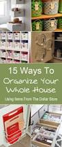 Kitchen Cabinet Organizer Ideas by 25 Best Dollar Store Organization Ideas On Pinterest Kitchen