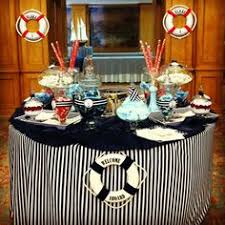 Nautical Table Decoration Ideas Exciting Announcement Nautical Table Cruise Ship Party And