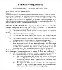 meeting memo template 7 free meeting minutes templates excel
