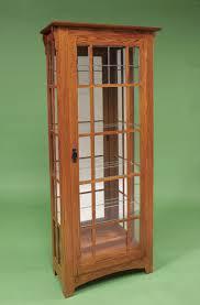Oak Curio Cabinet Curio Cabinet Mission Oak Curio Cabinet Hardwood Style