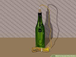Upcycled Wine Bottles - 3 ways to upcycle wine bottles wikihow