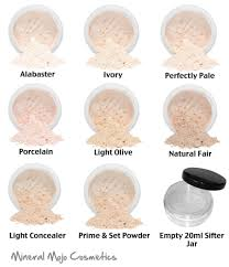 bare skin mineral mojo mineral foundation full cover makeup light