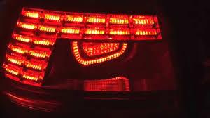2011 vw cc led tail lights 2011 2014 volkswagen passat b7 led tail light youtube