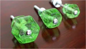 Green Glass Cabinet Knobs Cabinet Hardware The Kings Bay