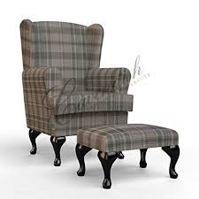 high sofa for elderly luxury orthopedic high seat chair in majestic wheat tartan tartan