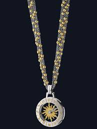 astrology necklace sun design nl sp tt seah llc