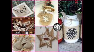 50 diy burlap christmas crafts and decorations ideas youtube