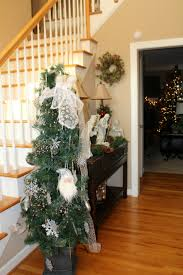 christmas house decor tour amy volk live better foyer