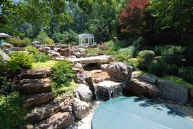 waterfall landscape design u0026 installation in annapolis md