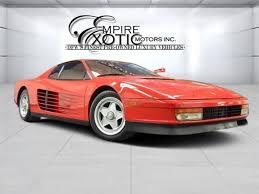 1989 testarossa for sale 31 testarossa for sale dupont registry