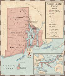 Ri Map Rhode Island Middle Passage Ceremonies And Port Markers Project