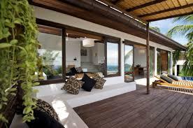 Wood Patio Flooring by Exterior Contemporary Exterior Design Ideas Using Mahogany Wood