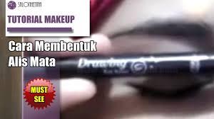 membuat alis dengan henna makeup produk cara gunakan etude eyebrow lukis henna pinterest