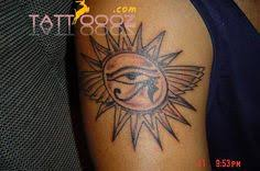 sun designs sun god tattoos