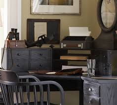 Corner Desk Pottery Barn Printer S Corner Desk Hutch Pottery Barn