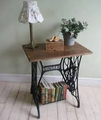 White Sewing Machine Cabinet by 22 Reuse And Recycle Ideas To Create Small Tables With Vintage