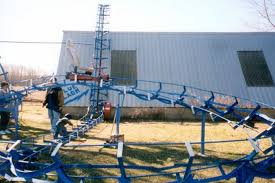 homemade roller coaster 24 pics
