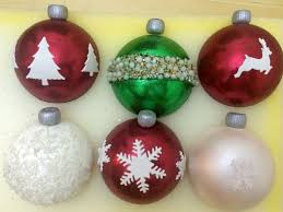 some christmas ornament bauble cupcake toppers cakecentral com
