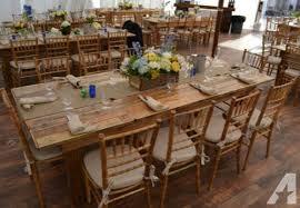 table rentals in philadelphia wedding rent buy long wood rustic farm table party rental table