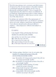 sat sample essay questions sat getting the lowest score possible sat sample 10 w s s10q14 gif