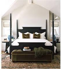 black four poster bed foter